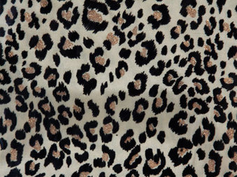 Velvet Leopard Holiday Decor Fabrics | FuzzyFabric | Scoop.it