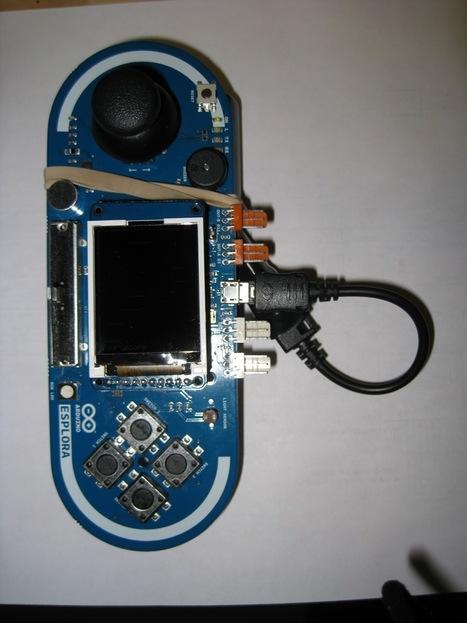 First Self-Contained Arduino Esplora Game | Arduino progz | Scoop.it