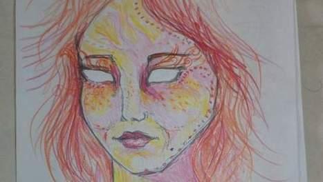 Deze zelfportretten maakte vrouw tijdens lsd-trip | MaCuSa Vandevoorde Elliot | Scoop.it
