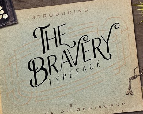 45 Latest Beautiful Serif Fonts For Your Project | Gideond Favorite Links | Scoop.it