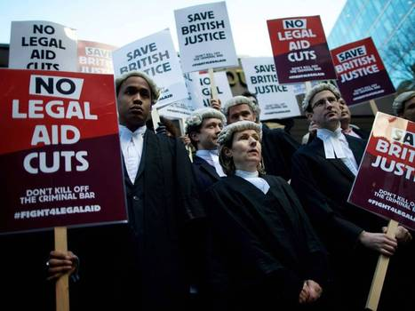Barristers to decide this week on legal aid strike - The Independent | Criminal Justice | Scoop.it