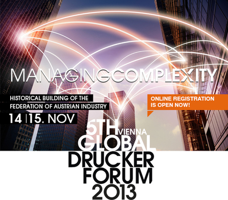 Global Peter Drucker Forum | Friday Thinking 10 May 2013 | Scoop.it