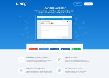 Kuku : L'alternative à Buffer et Hootsuite pour partager vos posts sur plusieurs réseaux sociaux | Solutions locales | Scoop.it