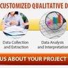Qualitative Data Analysis Services with Professional Skills