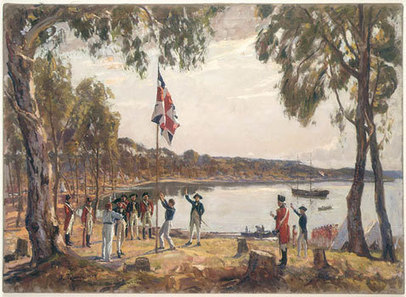 The First Fleet   State Library of New South Wales   Primary history- British Colonisation   Scoop.it