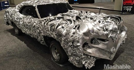 3D-Printed Ford Gran Torino Is the Muscle Car From Hell - Mashable | Machinimania | Scoop.it