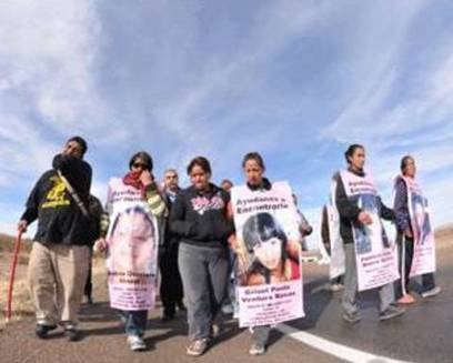 Mexican women—walking dead—march to implore governor's help in feminicide seige | U.S.-Mexico border | Scoop.it