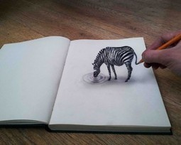 Les dessins en 3D de Ramon Bruin | Culturophile | Scoop.it