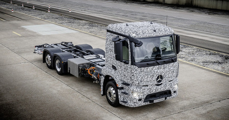 Mercedes-Benz shows off the first fully electric heavy urban transport truck | Societal Resilience, Mobility, Living, Logistics, Infrastructure | Scoop.it