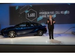 Thousands of hydrogen fuel cell patents released for free by Toyota | CSP - Concentrated Solar Power | Scoop.it