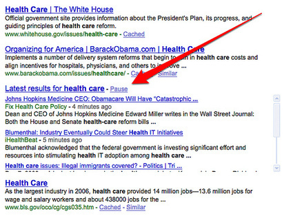 Google Launches Real Time Search Results | +#CCLQ™ | Scoop.it
