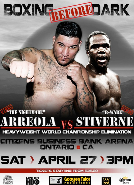 Official Promo: Arreola vs Stiverne Live | Exclusive PPV Boxing | Spot News @ California On Direc.TV - 27Th,Apr! | Sports 247 Live | Scoop.it