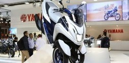 Yamaha shows three-wheel scooter at EICMA - Powersports Business | Scooters and Vespas | Scoop.it