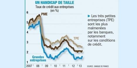 Emprunt, financement, trésorerie... les banques qui soignent le plus les PME françaises   Direction financière   Scoop.it