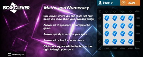 Maths and Numeracy Quiz | Box Clever | QuizFortune | Quiz Related Biz - Social Quizzing and Gaming | Scoop.it
