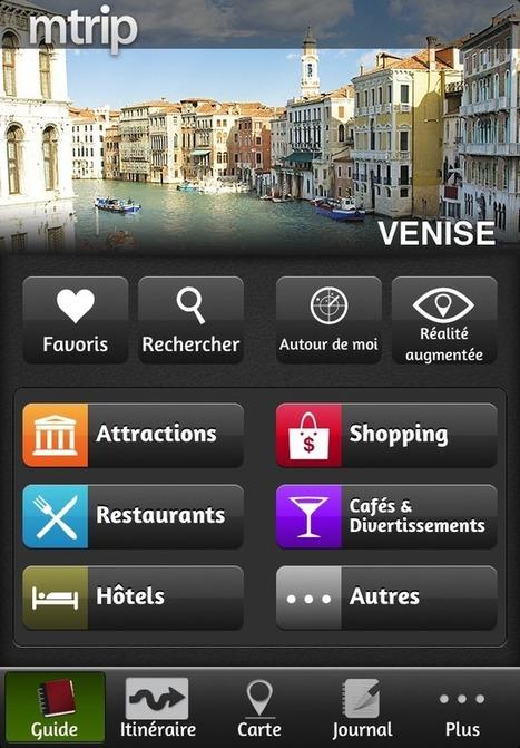 Guide Venise (avec carte offline) - mTrip (Tourisme) : application iPhone et iPad - AppsManiak | SEO and Webmaketing (and Music!) | Scoop.it