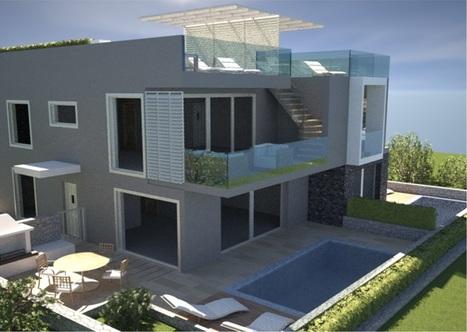 Prodaja apartmajev Krk duplex apartma 93,63 m2 v apartmajski vili z bazenom | Nepremičnine Hrvaška | Scoop.it