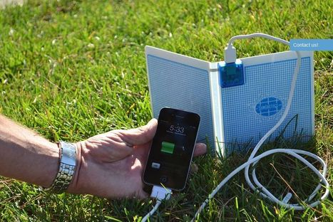 Portable Phone Charger To Avoid Low Battery | Solar Power | Scoop.it