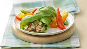 female muscle: Fresh Avocado and Bean Lettuce Wrap | Health and Fitness | Scoop.it