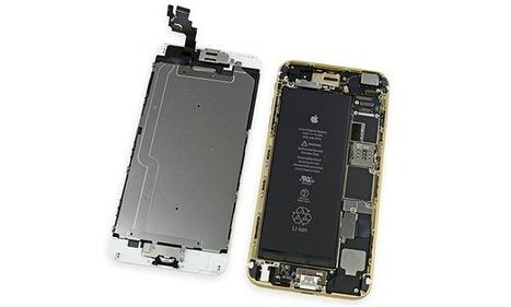 First iPhone 6 & iPhone 6 Plus teardowns reveal high-capacity batteries | techomania | Scoop.it
