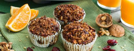 Cranberry Orange Vegan Pumpkin Muffins Recipe | Vegan Food | Scoop.it