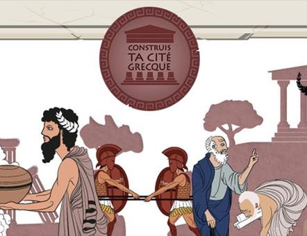 Construis ta cité grecque | Des jeux pour apprendre | Scoop.it