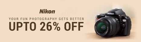 Buy Nikon Digital Cameras Online at Best Price in India | Electronic Gadgets | Scoop.it