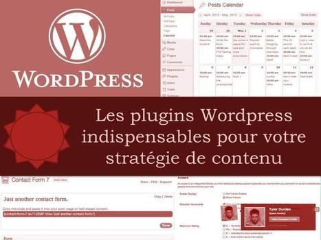Sélection des plugins Wordpress indispensables pour votre stratégie de contenu - Propulzr | Médias Sociaux | Scoop.it