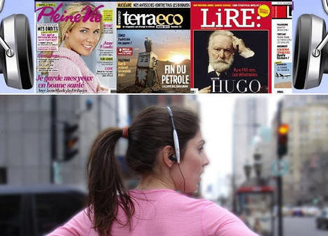 Des magazines disponibles en version audio - Campus Education | Remue-méninges FLE | Scoop.it