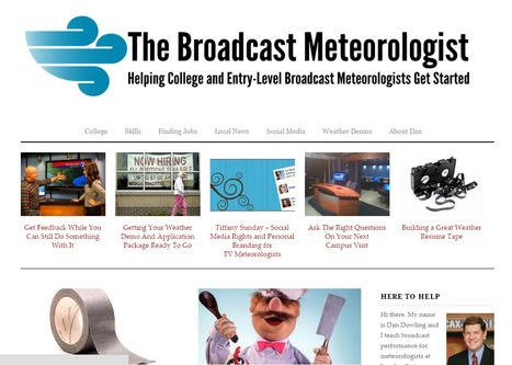 Learn More About Broadcast Meteorology | FreeTVJobs.com News | Scoop.it