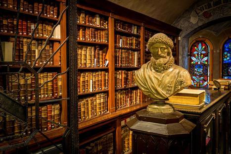 La bibliothèque, lieu idéal en littérature ? | Merveilles - Marvels | Scoop.it
