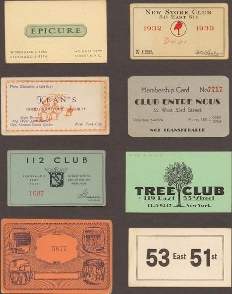 Speakeasy Cards: A Prohibition-Era Ticket to Drink | APUSH Worrell | Scoop.it