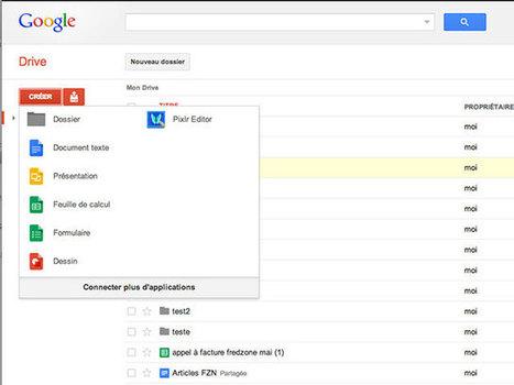 Google Drive : une meilleure intégration des applications tierces | netnavig | Scoop.it