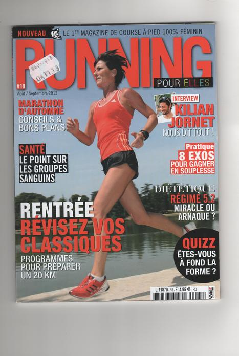 Running For Elles, le magazine qui monte ! | Vitalibio | Scoop.it