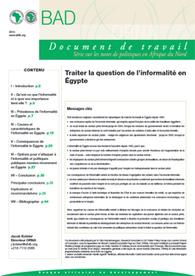 Gérer la question de l'informel en Égypte | Questions sociales du Pourtour sud méditerranéen | Scoop.it