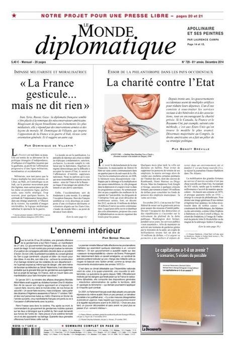 Projet pour une presse libre, par Pierre Rimbert (Le Monde diplomatique, décembre 2014) | whynotblogue | Scoop.it
