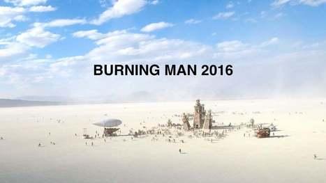 Burning Man 2016 vu du ciel, filmé avec un drone - Pixfan | Les déserts dans le monde | Scoop.it