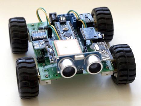 Hackabot Nano is an Arduino-based robotics kit   Raspberry Pi   Scoop.it