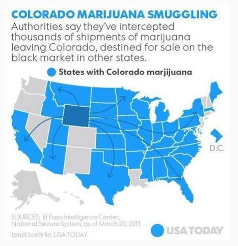 USA TODAY publishes article about Colorado marijuana smuggling, but has no idea where Colorado is actually located | Global Affairs & Human Geography Digital Knowledge Source | Scoop.it