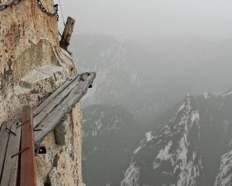 Une montagne sacrée du taoïsme, c'est pas pour les coeurs sensibles (1/2) - L'assurance d'une vie meilleure... ben même pas ! | Religion - ésotérisme - Bio | Scoop.it