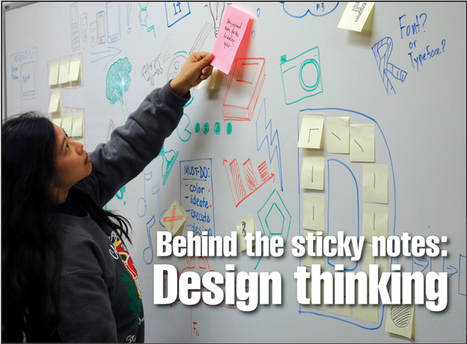 Stanford Daily | Behind the sticky notes. What is Design Thinking? #designthinking | Designing  services | Scoop.it