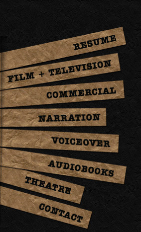 Experienced New York based actor TV Commercials Voice Over Narration Audio Books Theater | Everything AudioBooks | Scoop.it