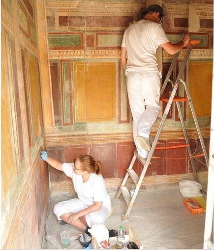 Conservators Restore Frescos in Stabiae Villa - Archaeology | Centro de Estudios Artísticos Elba | Scoop.it