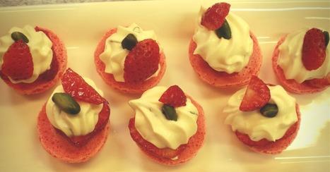 Les recettes de fraises de Christophe Grosjean | Cuisine et cuisiniers | Scoop.it
