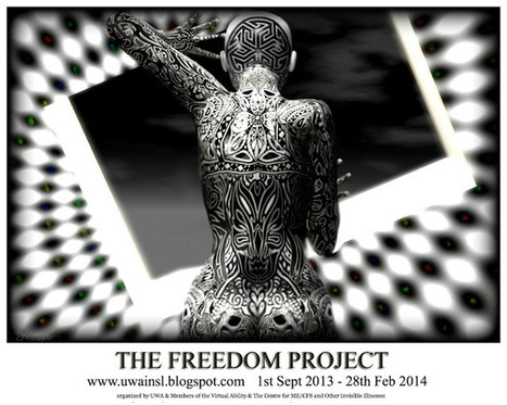 The University of Western Australia in Second Life: The Freedom Project (An initiative by UWA, Virtual Ability & the Centre for ME/CFS) | Online Tools for Working Online | Scoop.it