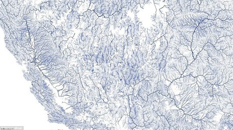 The veins of the nation: All of America's rivers mapped | UnSpy - For Liberty! | Scoop.it