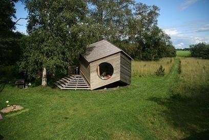 A Modular, Geometric Cabin in Estonia | PROYECTO ESPACIOS | Scoop.it