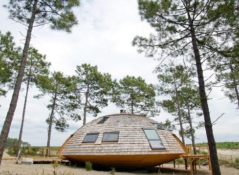 La maison en bois rotative | Maisons insolites | Scoop.it