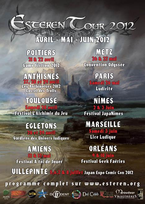 Esteren Tour 2012 – Avril à Juillet | JdR Francophone | Scoop.it