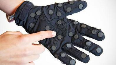 The glove that transmits 'touch' over the internet | Teaching in the XXI Century | Scoop.it